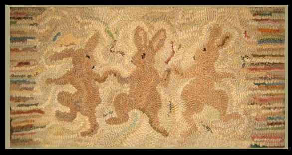 Kathy Clark Dancing Rabbits