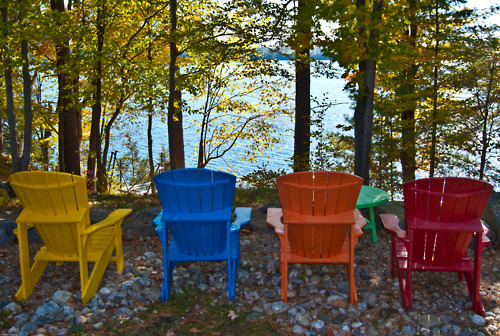 cottage life in living colour